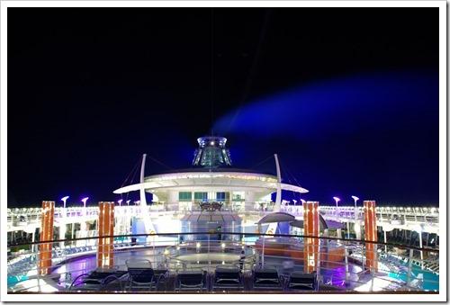 フリーダムオブザシーズ船上