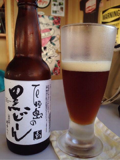 石垣島の黒ビール