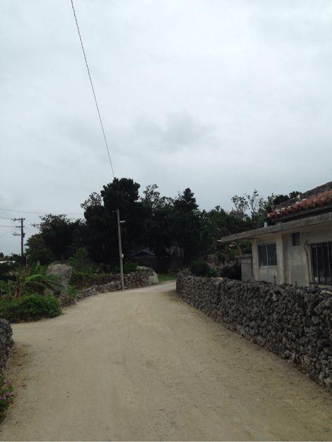 竹富島の散歩コース
