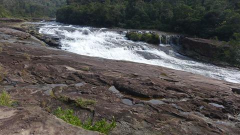 浦内川クルーズのカンピレーの滝