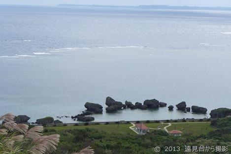 大神島の展望台からのカミカキス