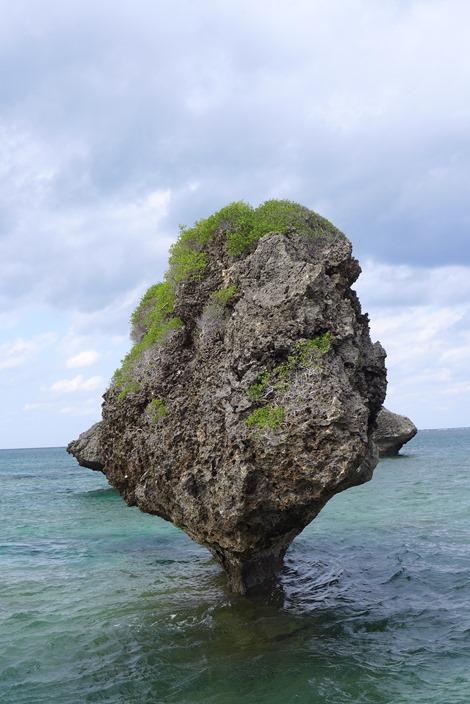 奇石(ノッチ)