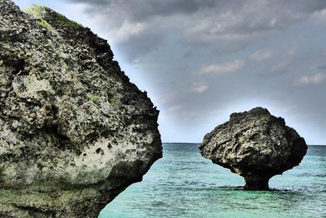 大神島の奇石(ノッチ)3