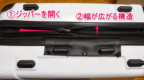 TSA5780-3780 TSAロック搭載軽量スーツケース