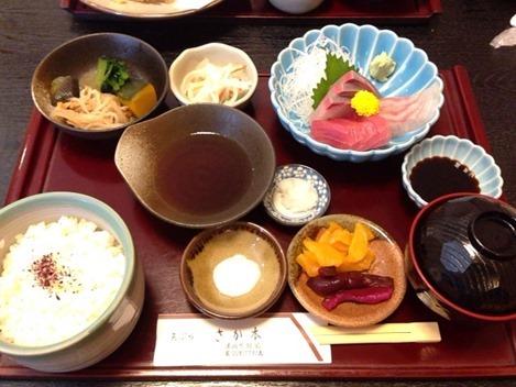 天ぷら さか本松定食