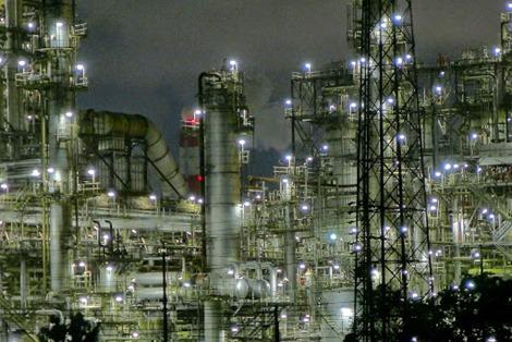 四日市工場地帯夜景撮影lumix-lx7インプレッシブアート