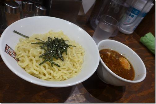 玉五郎 煮干しラーメンのつけ麺