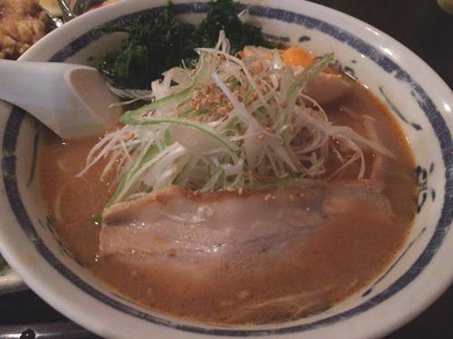味噌らー麺アップ