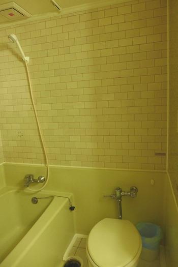チュンチェンホテルl 浴室と トイレトイレー!!  ε==ε==(ノ ̄ー ̄)ツ ||WC||