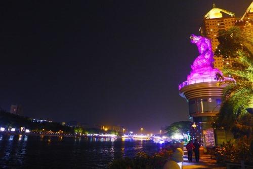[台湾]高雄の夜 ドラゴン