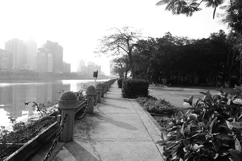 [台湾]高雄の愛河の朝