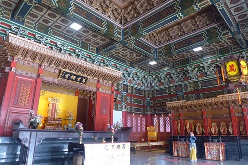 孔子廟の中