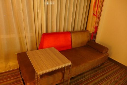 ノボテル台北桃園国際空港ホテル ソファ