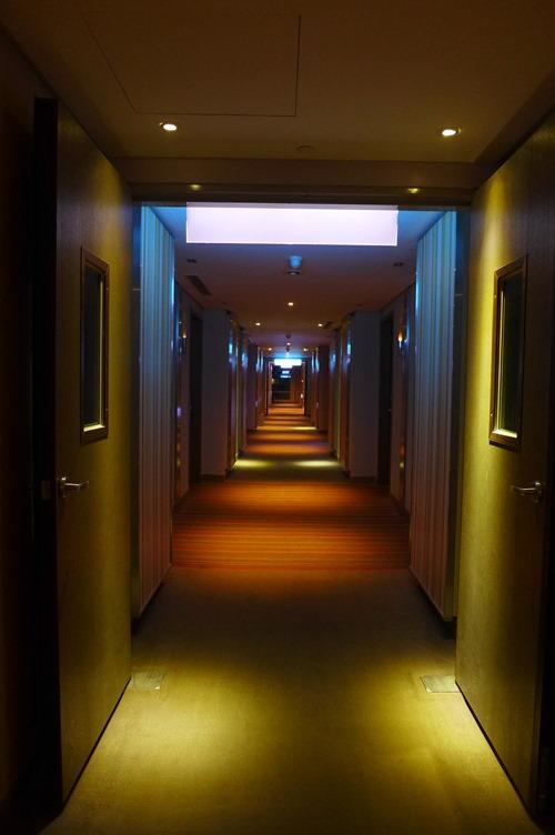 ノボテル台北桃園国際空港ホテル 廊下