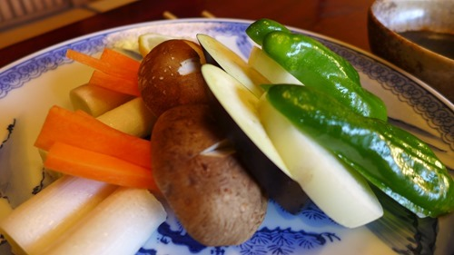 松阪市 海津本店の野菜
