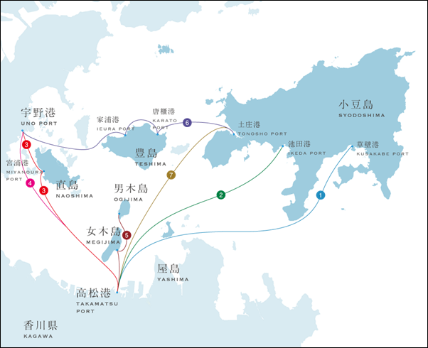 map-ferry