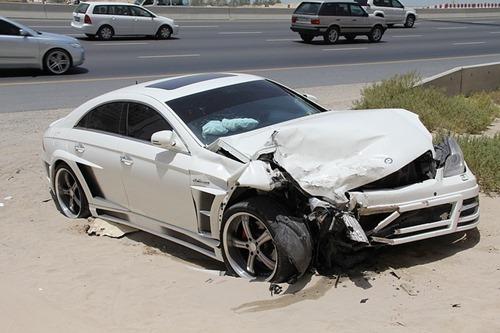 交通事故写真
