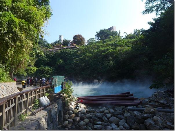 台湾の温泉街