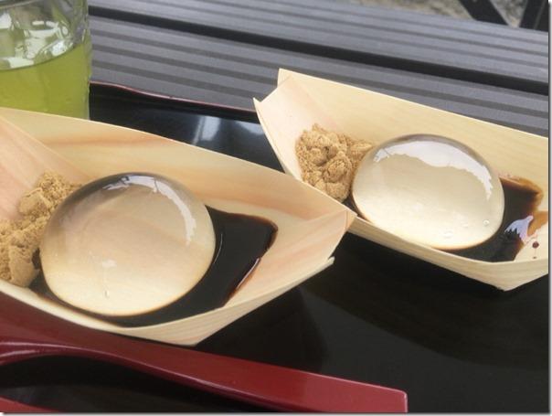 水信玄餅2つ